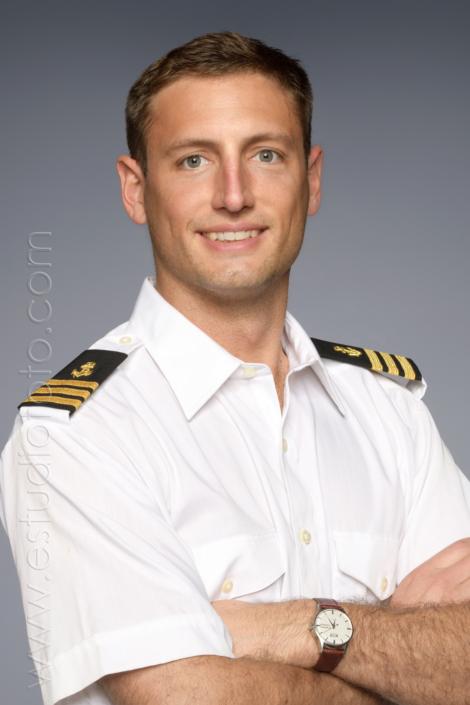 Fotografia de estudio Capitán Mercante